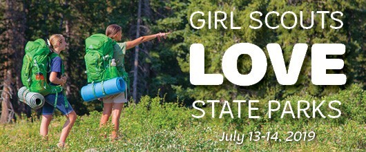 Girl Scouts LOVE State Parks - Feature Story