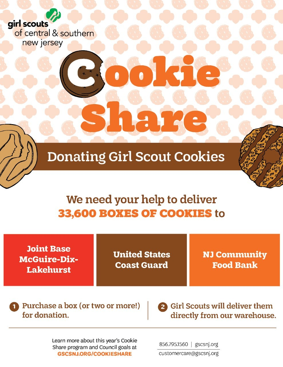 2021 Cookie Share Flyer