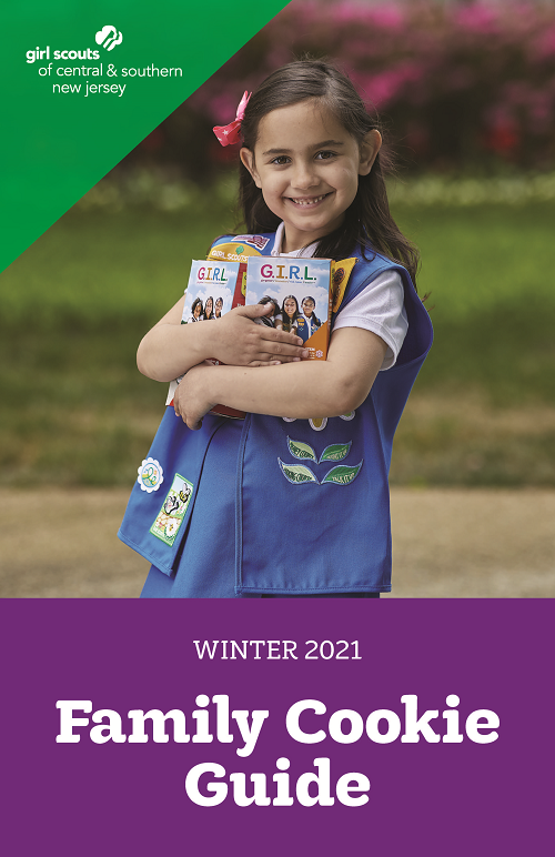 2021 GSCSNJ Family Guide Cover